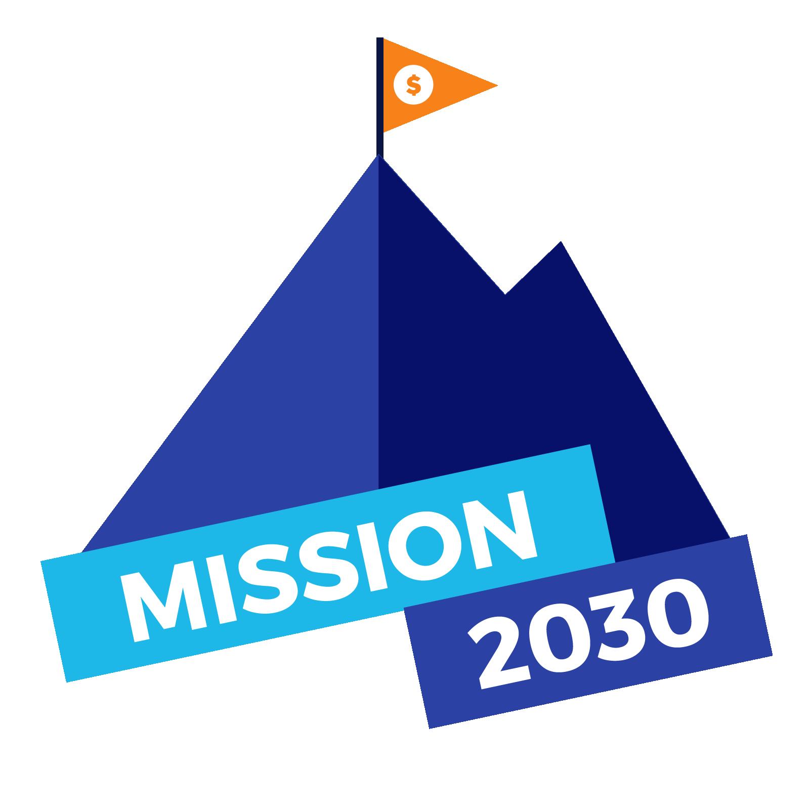 NGPF Mission 2030 Logo